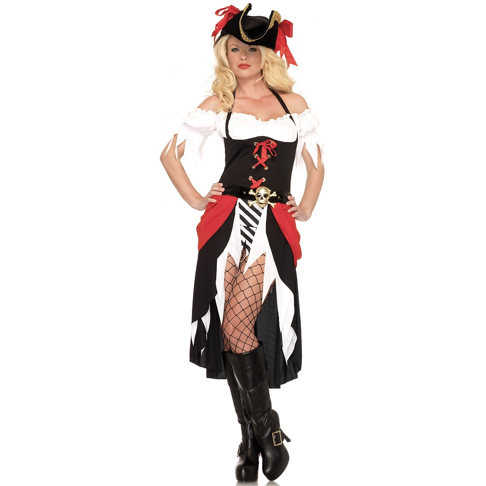 Pirate Beauty Adult Costume - Small/Medium