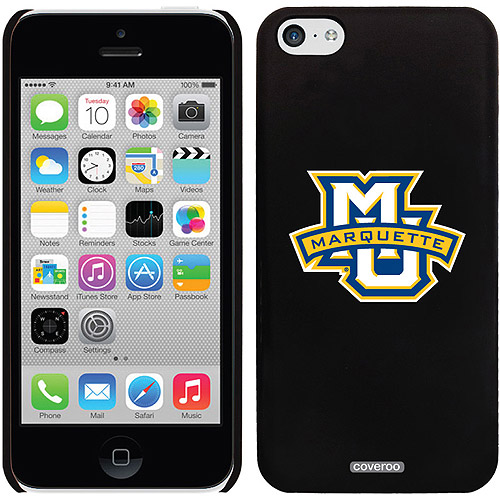 Marquette MU Banner Design on iPhone 5c Thinshield Snap-On Case by Coveroo
