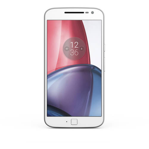 Motorola Moto G4 Plus 64GB Unlocked Smartphone, White