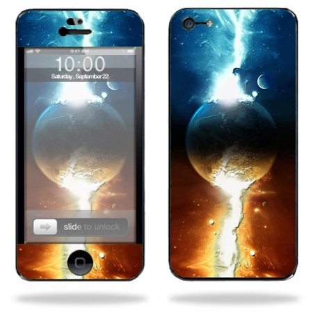 Mightyskins Protective Vinyl Skin Decal Cover For Apple Iphone 5 5S Se 16Gb 32Gb 64Gb Cell Phone Wrap Sticker Skins Sci Fi