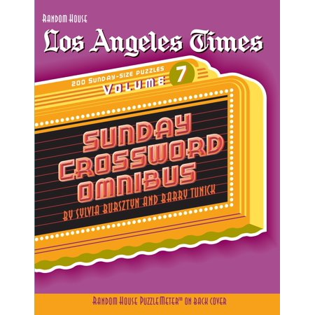Los Angeles Times Sunday Crossword Omnibus, Volume 7 - Halloween Activities For Toddlers Los Angeles