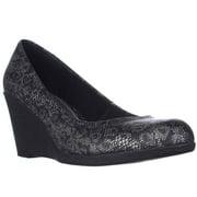 Womens AL35 Mikala Wedge Heels - Black