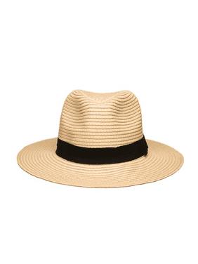 Women's Wide Brim Fedora Hat Spring Summer 126SH