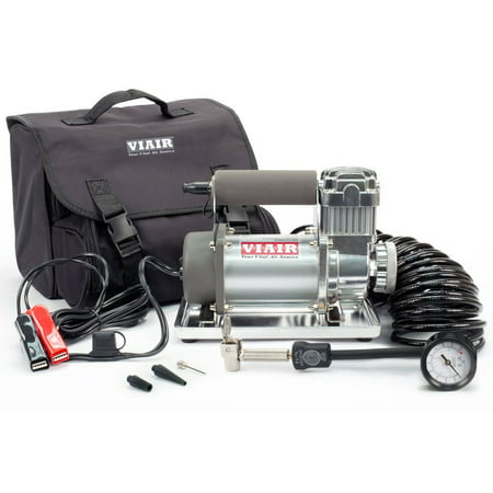 Viair Compressor - Viair 300P Portable 12V 33 Percent Duty 150 PSI Compressor Kit for 33
