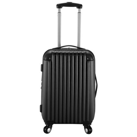 29f4d8d2b Costway - GLOBALWAY 20'' Expandable ABS Carry On Luggage Travel Bag Trolley  Suitcase - Walmart.com