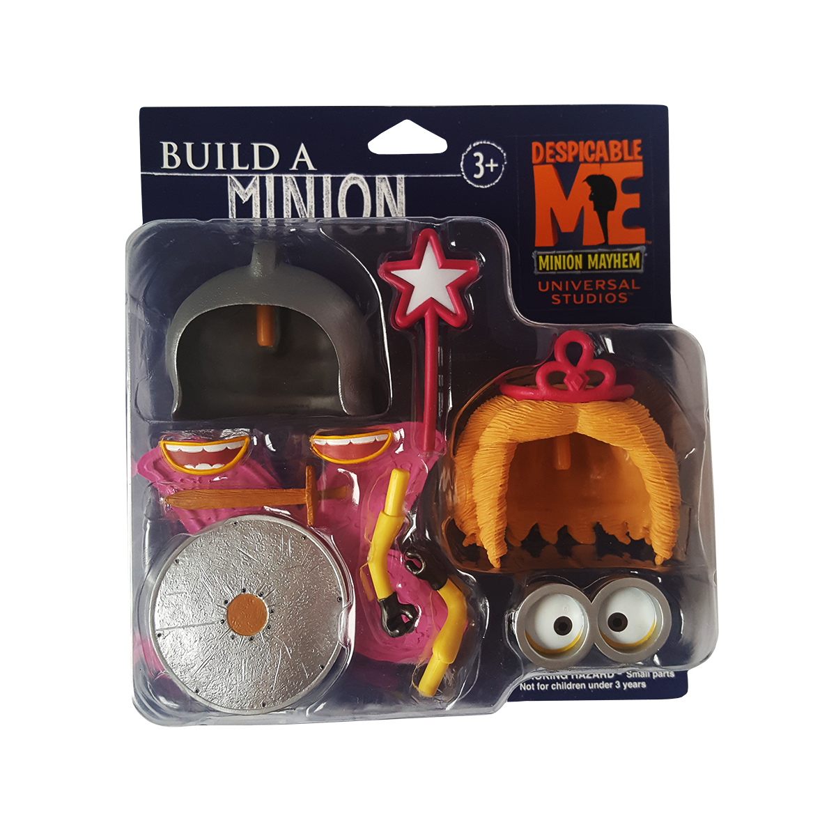 "Despicable Me Minion Mayhem Build A Minion Princess Fairy & Hero Knight 4"" Figure by Universal Studios by"