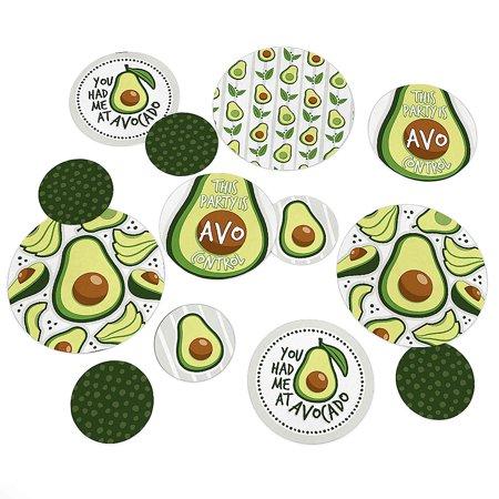 Hello Avocado - Fiesta Party Giant Circle Confetti - Party Decorations - Large Confetti 27 Count](Alligator Decorations)