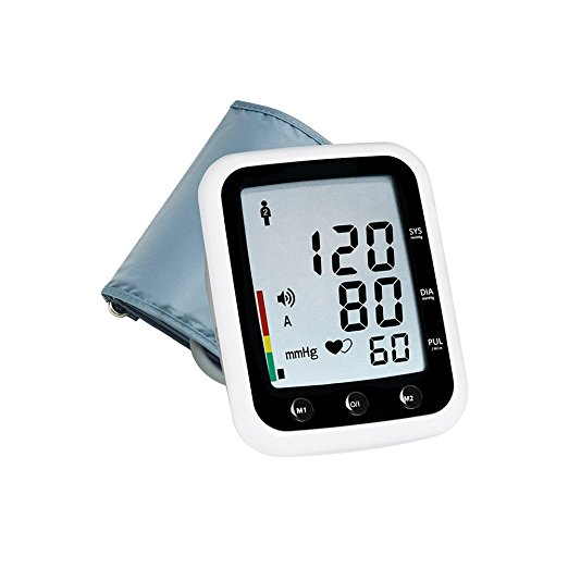 Blood Pressure Monitor For Men, Voice Assist Arm Cuff Blood Pressure Monitor Home