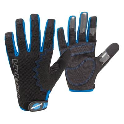 Park Mechanics Gloves Medium, Black/Blue