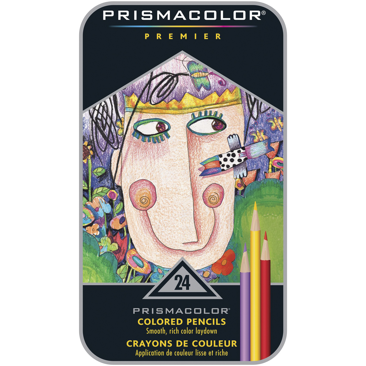 Prismacolor Premier Colored Pencils 24 Count Walmart
