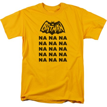 Batman Classic TV Series 1966 Na Na Na Classic TV Logo Adult T-Shirt Tee