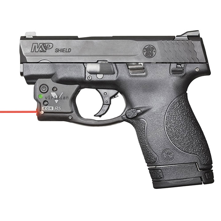 Viridian Reactor 5 Red Laser Sight for Smith & Wesson MP Shield with ECR and Pocket Holster by Viridian
