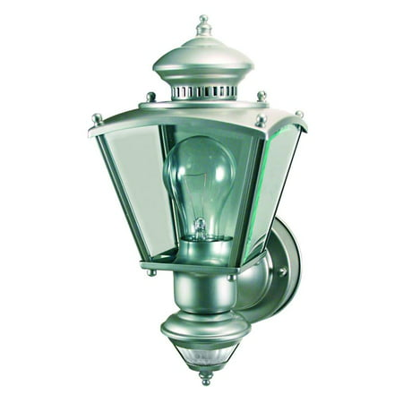 Heath Zenith HZ-4150 Charleston Coach 1-Light 150 Degree Motion Activated Outdoor Wall (Cache Bisque Brick Ceramic Outdoor Wall Sconce)