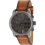 Diesel Men's DZ5465 Brown Leather Quartz Watch