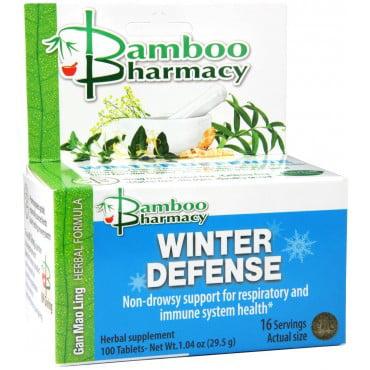Bamboo Pharmacy Winter Defense Immune System Support