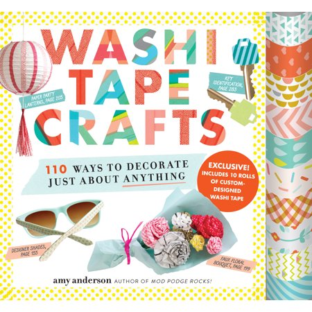 Washi Tape Crafts : 110 Ways to Decorate Just About - Ways To Decorate For Halloween