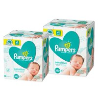 Pampers Baby Wipes, Sensitive, 14X Pop-Top Packs, 784 Count