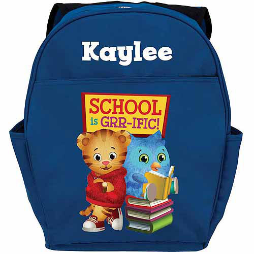 Personalized Daniel Tiger's Neighborhood Daniel and O Blue Backpack