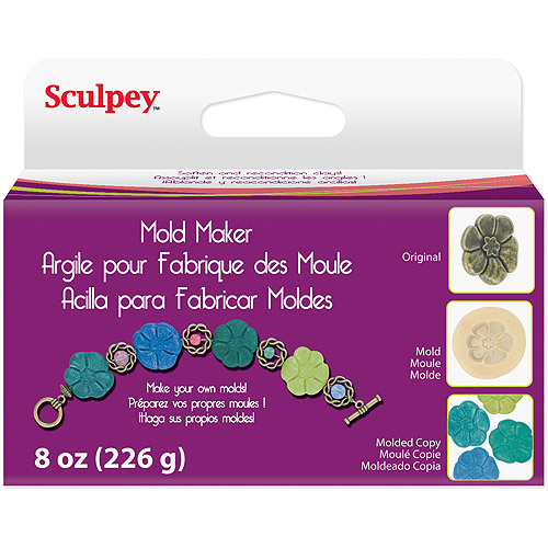 Sculpey Mold Maker 8 oz/pkg, Cream