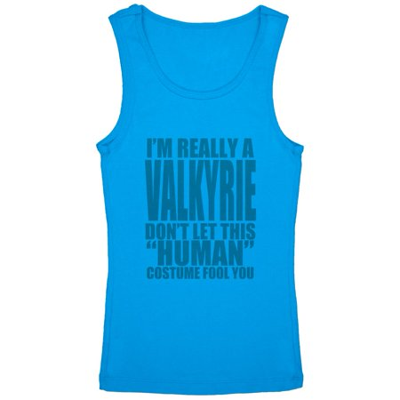 Halloween Human Valkyrie Costume Youth Girls Tank Top](Halloween Stores In Green Bay)