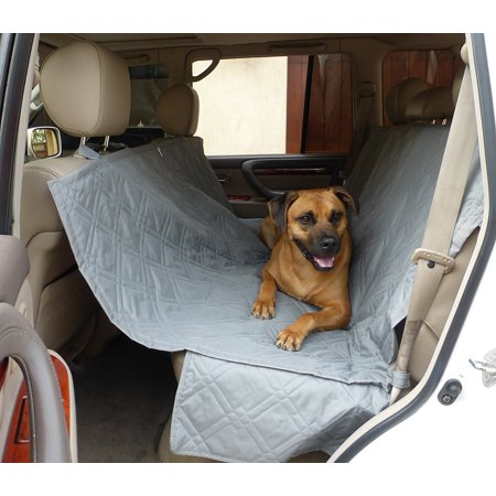 Formosa Covers Pet Seat Hammock Cover With Non Slip Fabric In Seat Area For Pets   56  Wx60  L Grey