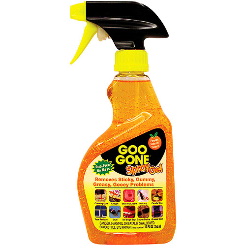 Goo Gone Remover Spray Gel, 12 fl oz