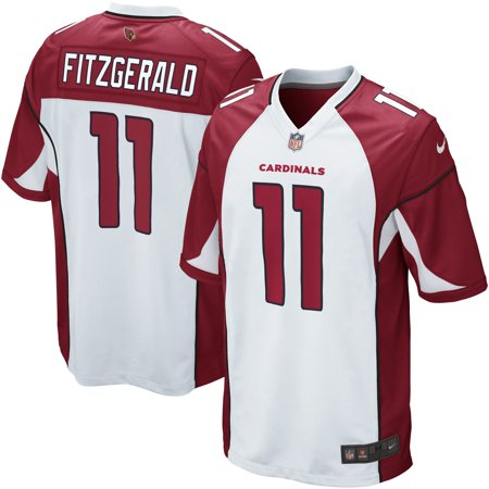outlet store 9cd13 69f1f Mens Arizona Cardinals Larry Fitzgerald Nike White Game Jersey-M
