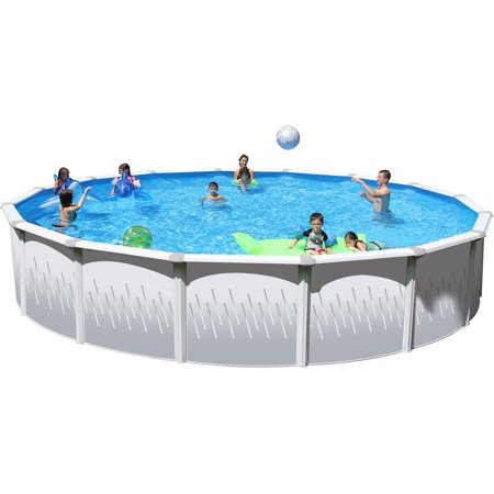 Heritage taos 27 39 x 52 steel wall above ground swimming for Cheap above ground pool packages