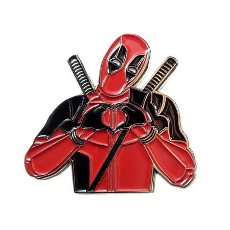 Deadpool Enamel Hat Pin Lapel -
