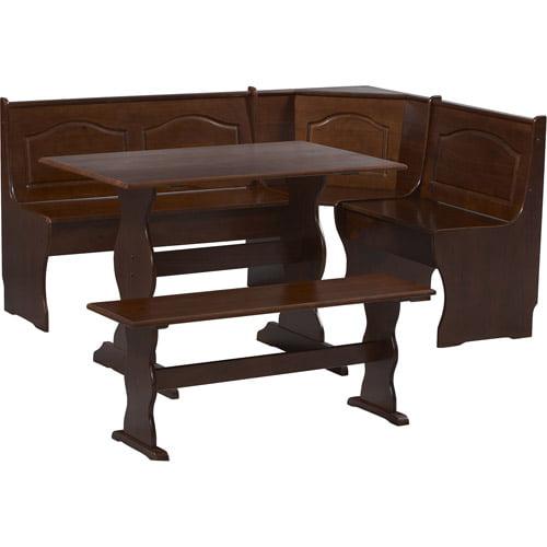 Linon Home Decor Products Inc Chelsea Corner Nook Walnut Box 2
