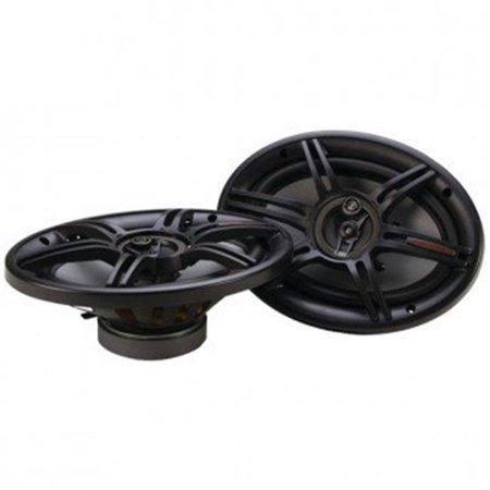 Crunch 400 Watts 6 x 9 Inches 3-Way 4-Ohm Coaxial CS Speakers, Black | CS-693 - image 5 de 5