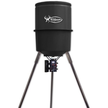 - Wildgame Innovations Sports & Outdoors Quick Set Game Feeder, 30 Gal