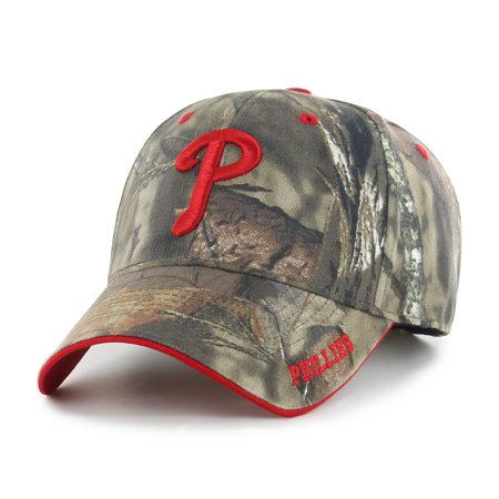 Fan Favorite MLB Mossy Oak Adjustable Hat, Philadelphia Phillies