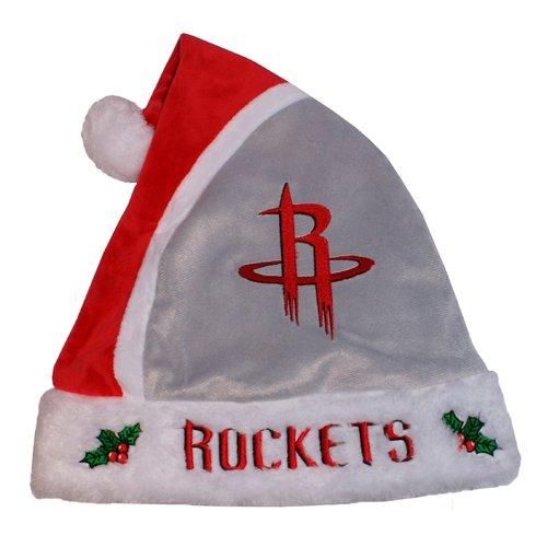 Forever Collectibles NBA 2015 Santa Hat, Houston Rockets