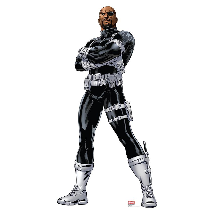 Avengers Assemble Nick Fury Lifesized Standup