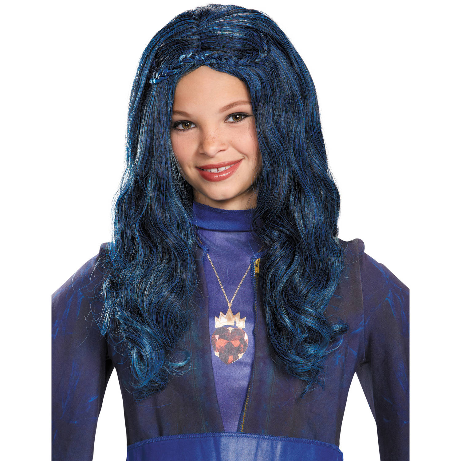 Evie Descendants Wig Child Halloween Accessory