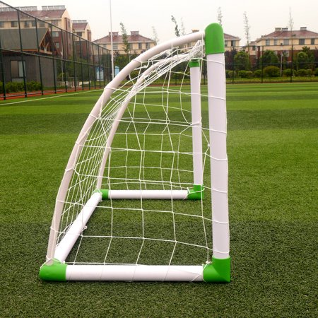 Ktaxon 4'(H) x 2.6'(w) Portable Football Soccer Goal Training Set, with Net Buckles Ground Nail, for Beach, Playground use - image 6 of 6
