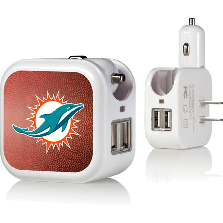 Miami Dolphins USB Phone Charger - No Size ()
