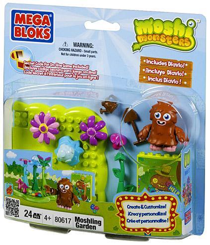 Moshi Monsters Moshling Garden Set Mega Bloks 80617 by MEGA Brands, Inc