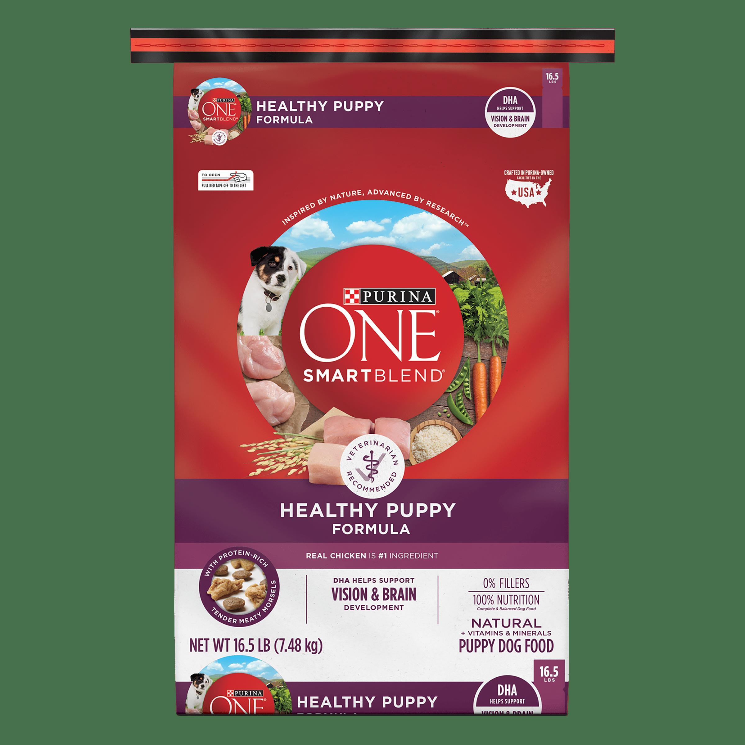 Purina ONE Natural Dry Puppy Food; SmartBlend Healthy Puppy Formula 16.5 lb. Bag by Nestlé Purina PetCare Company