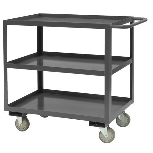Durham Manufacturing 14 Gauge Steel Rolling Service Stock Cart