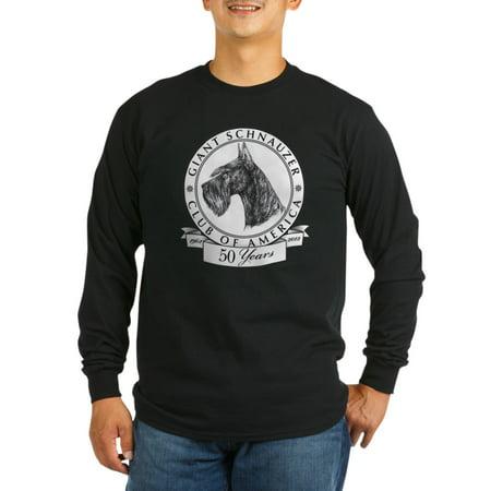 Giant Schnauzer Club - CafePress - Giant Schnauzer Club Of America Logo Long Sleeve D - Long Sleeve Dark T-Shirt