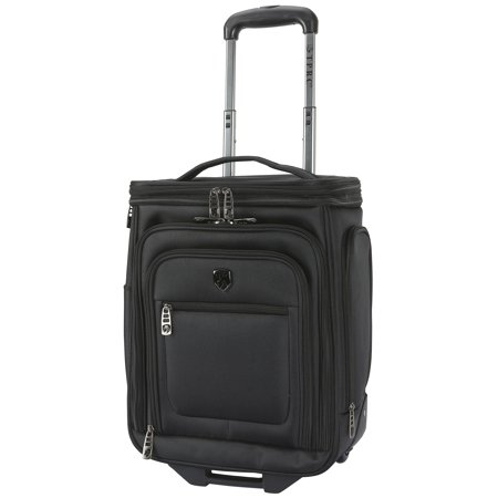 "TPRC 17"" ROLLING UNDERSEATER W/ TOP EXPANDABLE SECTION - BLACK"