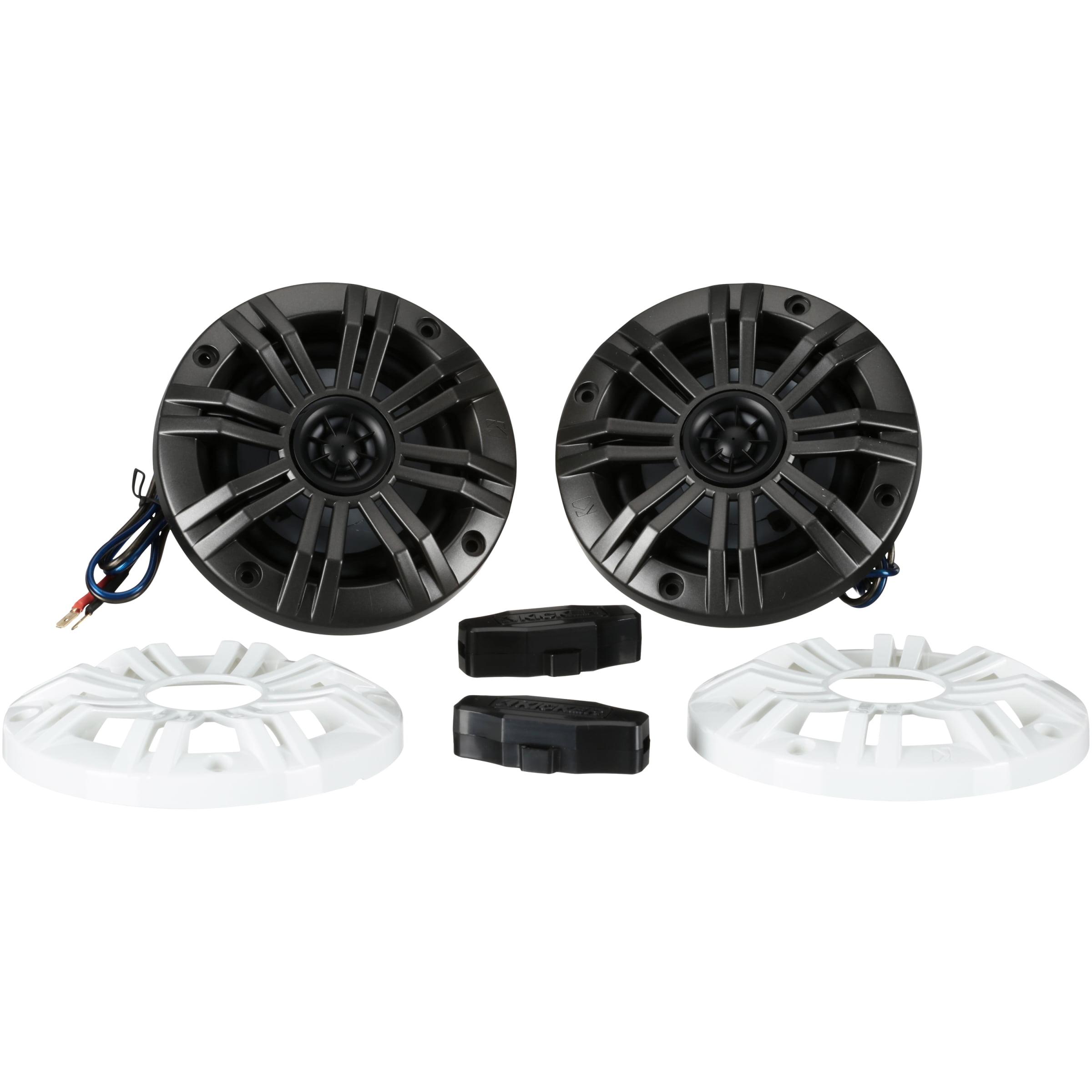 Kicker® KM4 Coaxial Speakers
