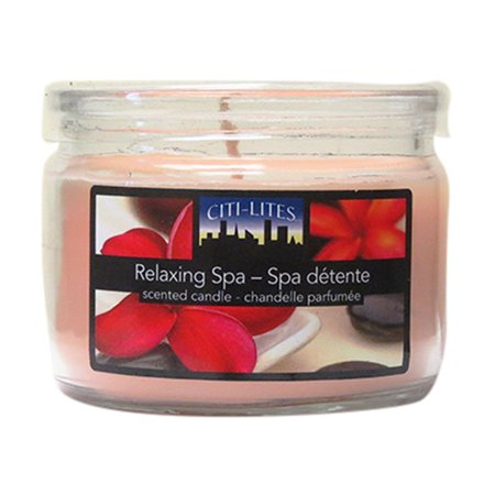 Citi-Lites 3 Ounce Round Jar With Acetate Lid- Relaxing Spa (Pack of 3) - image 1 of 1