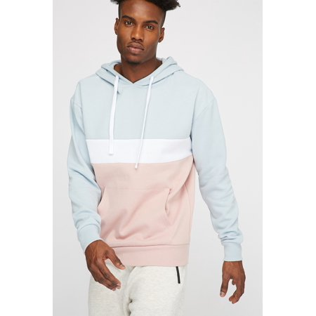 37aca50b Urban Planet Men's Pastel Colour Block Hoodie | Walmart Canada