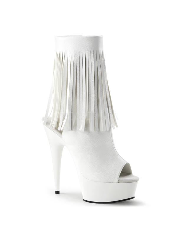 DEL1019/WPU/M Pleaser Platforms Exotic Dancing Ankle/Mid-Calf Boots Size: 11