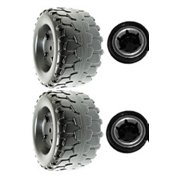 2 Power Wheels Jeep Wrangler Tires