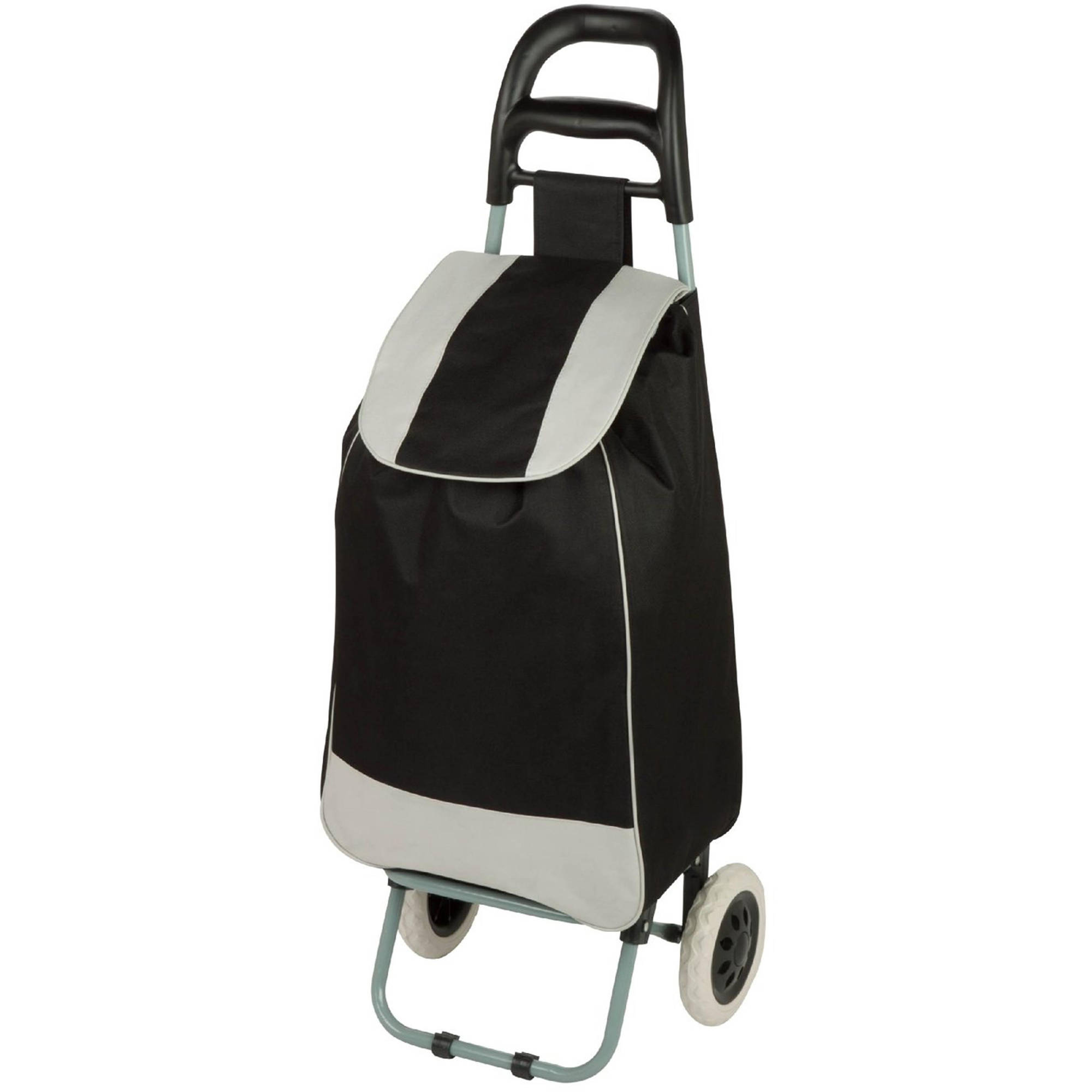 Rolling Knapsack Bag Cart in Plum