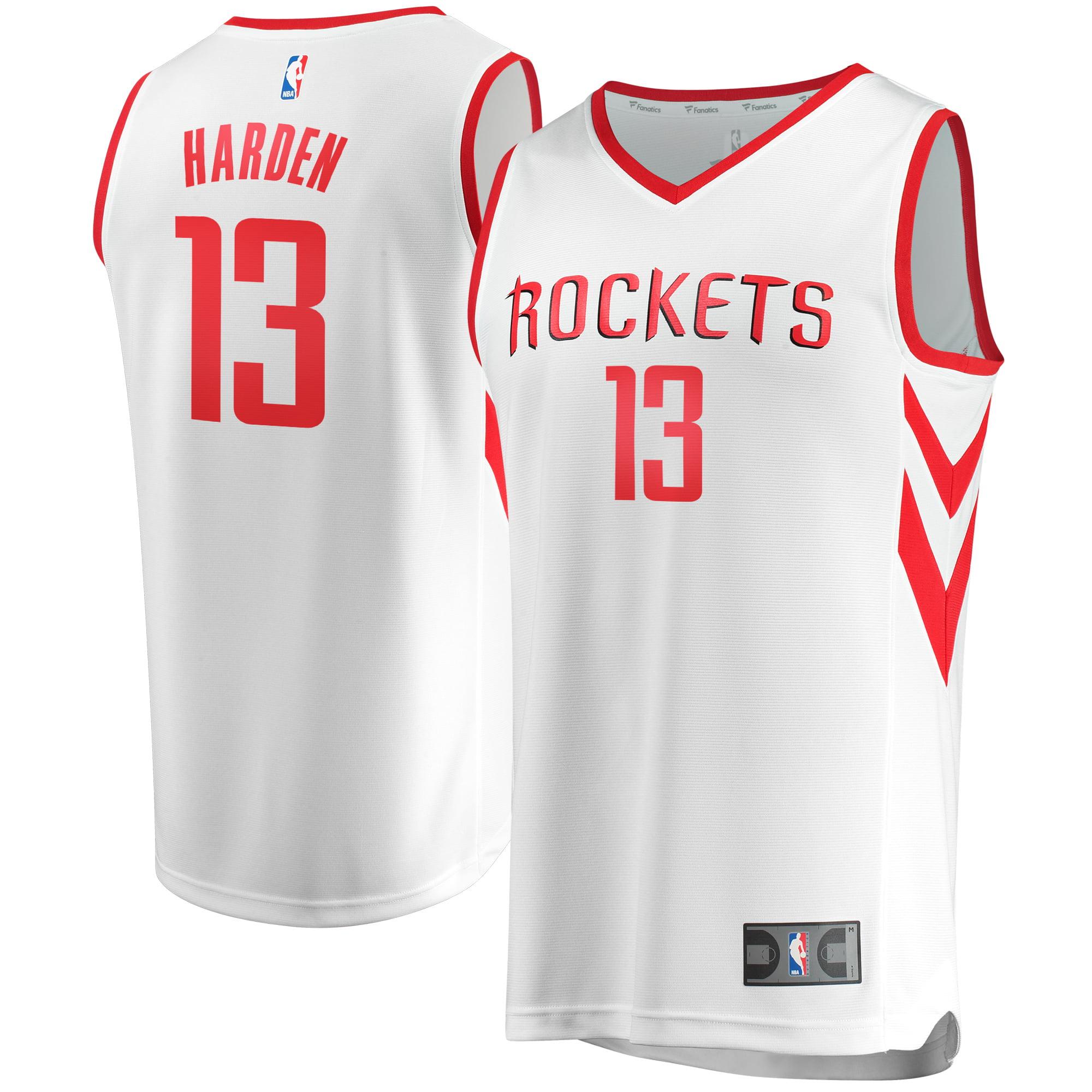 James Harden Houston Rockets Fanatics Branded Youth Fast Break Replica Jersey White - Association Edition - Yth S